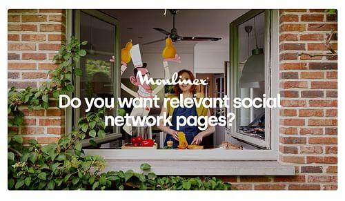 Réseaux Sociaux - Moulinex - Stratégie digitale
