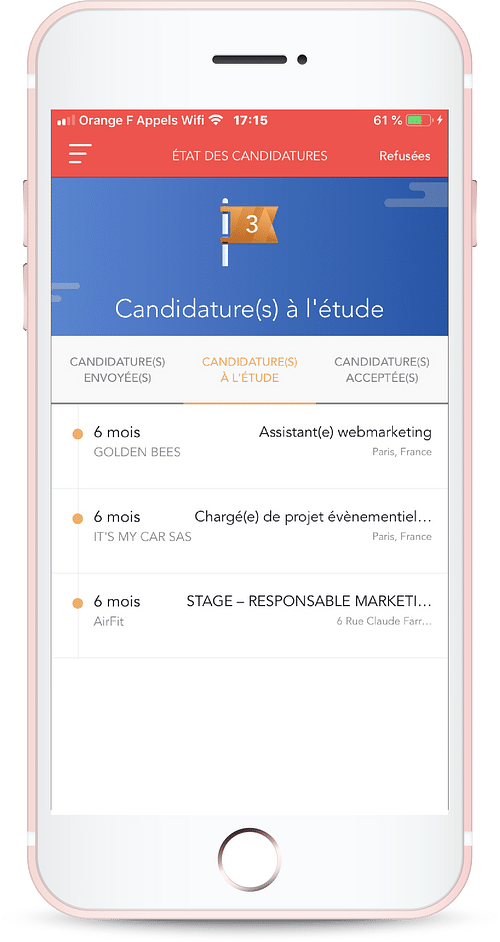 Développement d'application ios - Application mobile