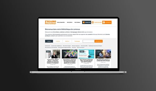 Groupe Figaro - Design/UX/UI, CMS, Dashboard - Publicité en ligne