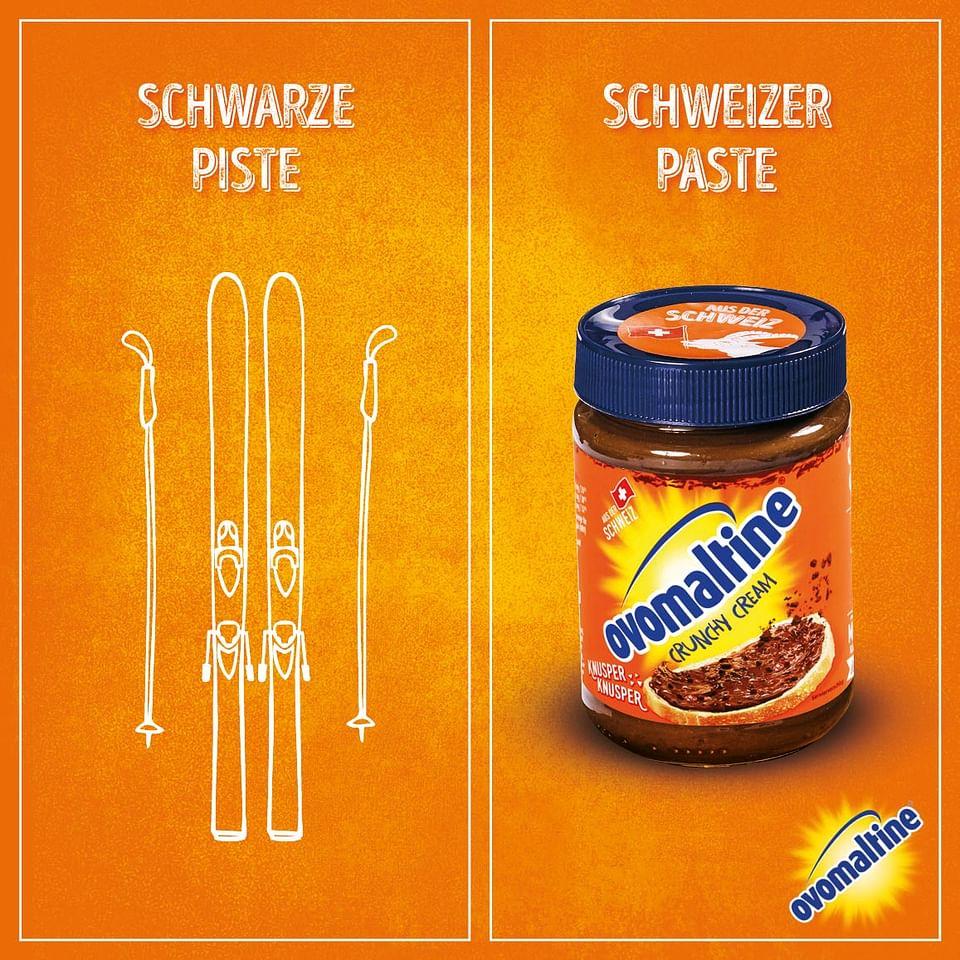 """Ovomaltine - """"Nicht ganz Knusper""""-Kampagne"""