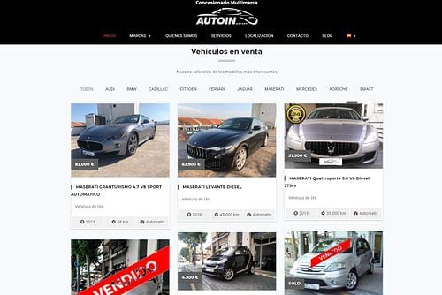 Pack 360 Autoin - Publicidad Online