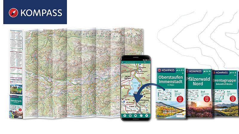 Digitalstrategie für KOMPASS Wanderkarten-Verlag