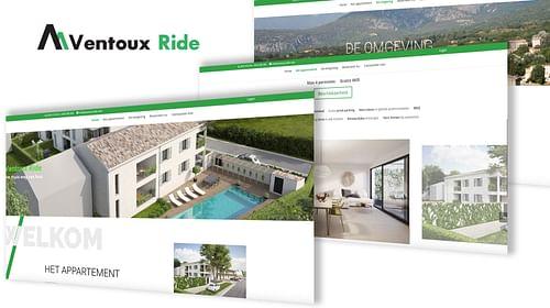 Ventoux Ride - Website Creatie