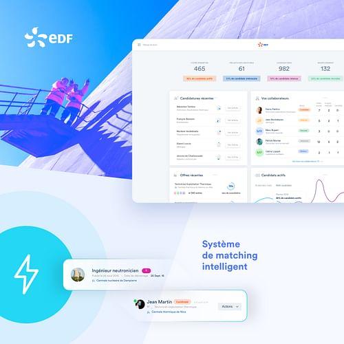 EDF - Création de site internet