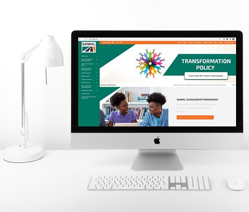 The South African National Roads Agency - Website Creation