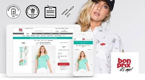 bonprix – permanent design development for bonprix - E-Commerce
