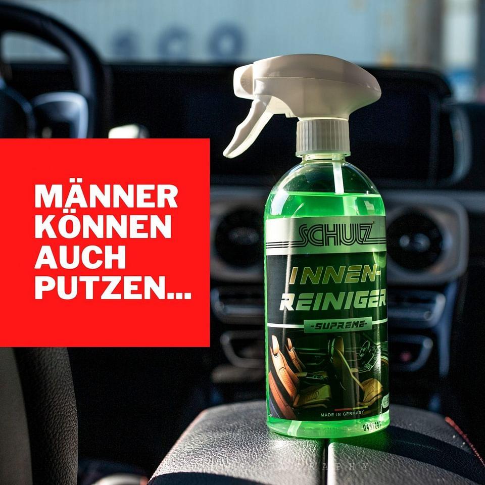 Männer können auch putzen
