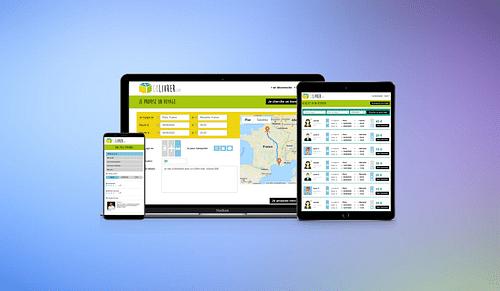 Plateforme collaborative de livraison de colis - Application mobile