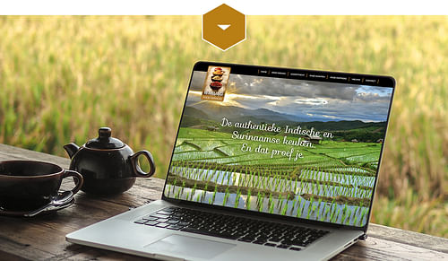 Warung Food Services - Website Creatie