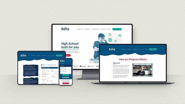 Brand  & web design for a virtual high school