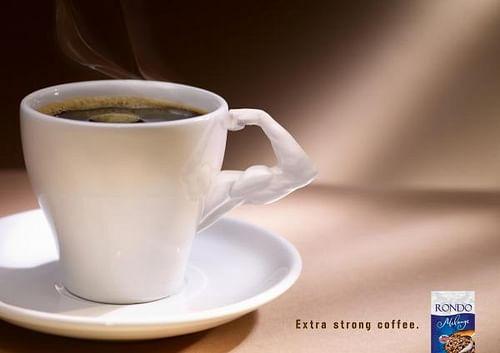 THE EXTRA STRONG RONDO COFFEE - Werbung