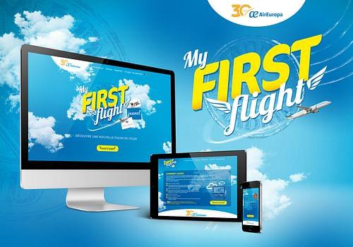 Facebook page and contest website - Stratégie digitale