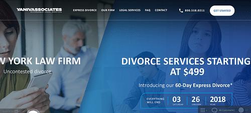 Case study: Uncontested Divorce - Graphic Design