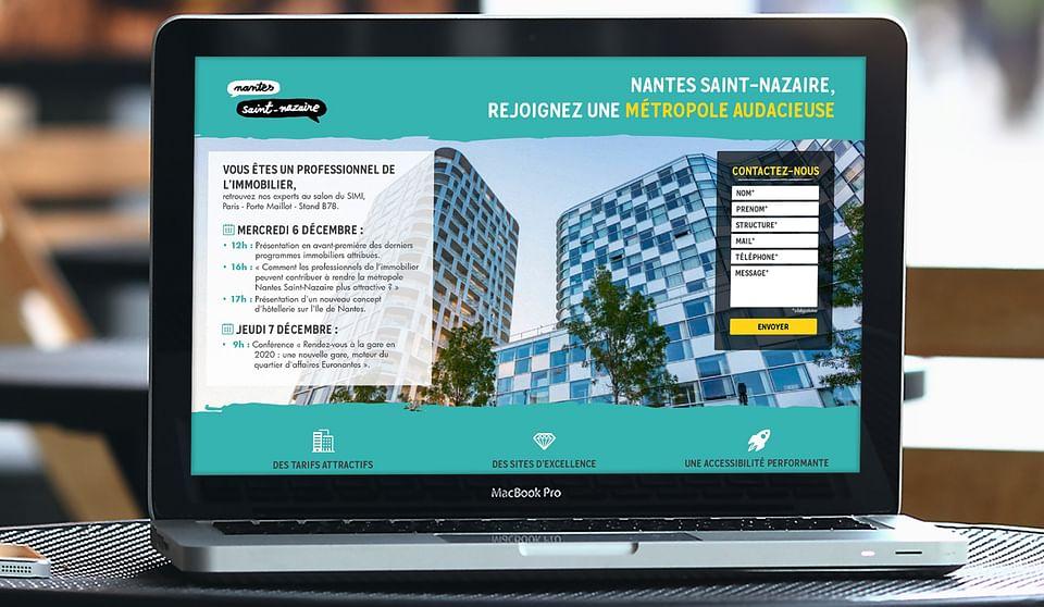 Nantes St-Nazaire Développement - Application web