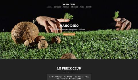 Création web - Friiix Club