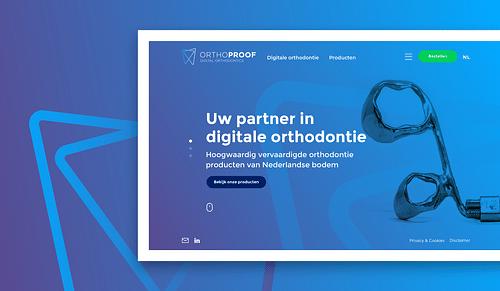 Orthoproof - On- en offline rebranding traject - Website Creatie
