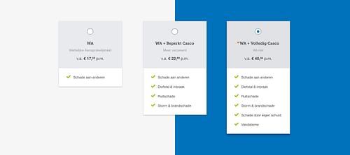 Consumentenbond - Productvergelijkers - Ergonomie (UX / UI)