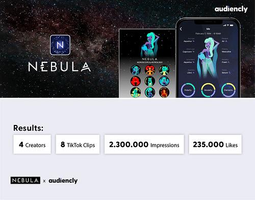 Nebula x Audiencly - Social Media