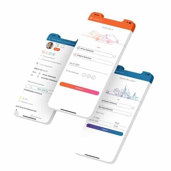 Autodelen app