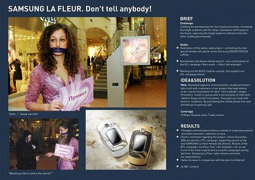 LA FLEUR. DON'T TELL ANYBODY - Publicidad