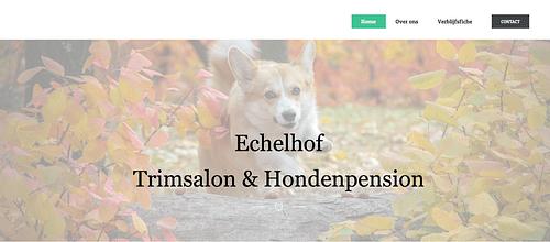 WEBSITE ONTWERP EN LOGO ONTWERP - ECHELHOF - Graphic Design