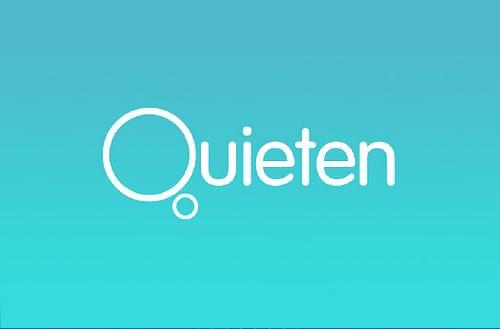 Quieten Mobile App - Website Creation