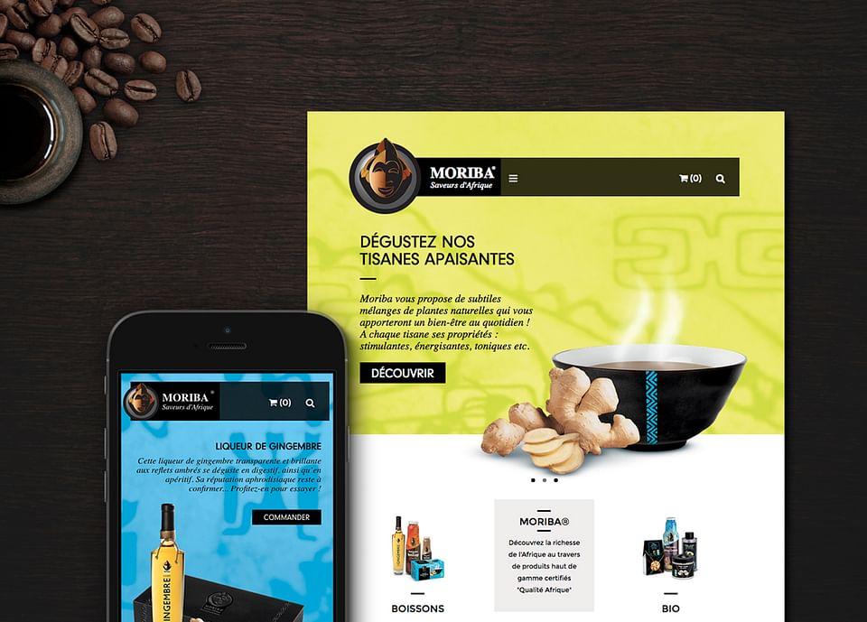Site e-commerce Moriba