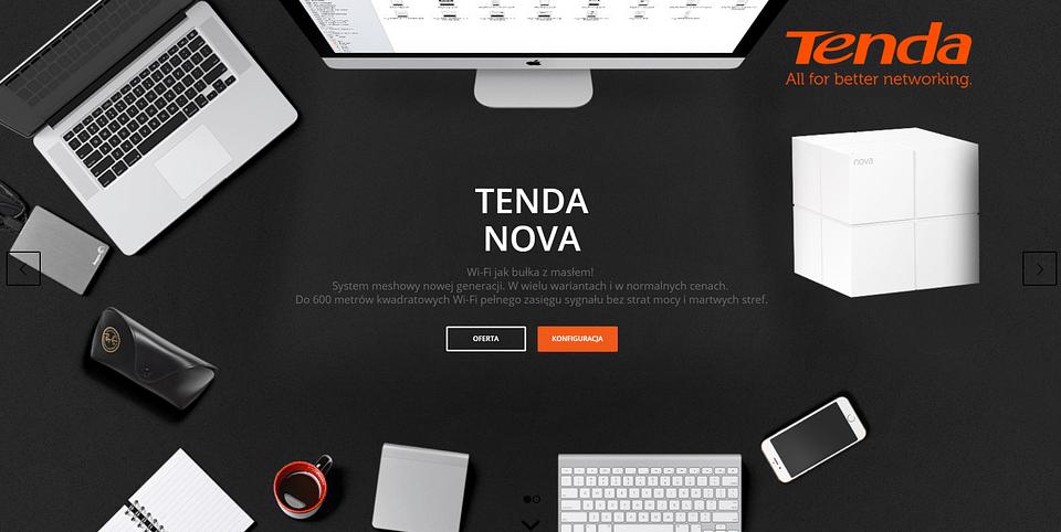 Polish website about mesh technology