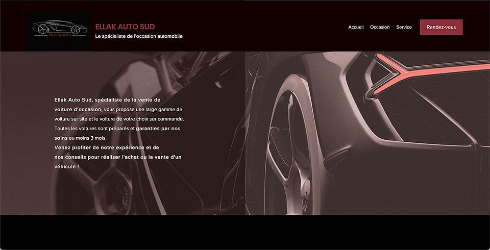 Site Vitrine Ellak Auto Sud