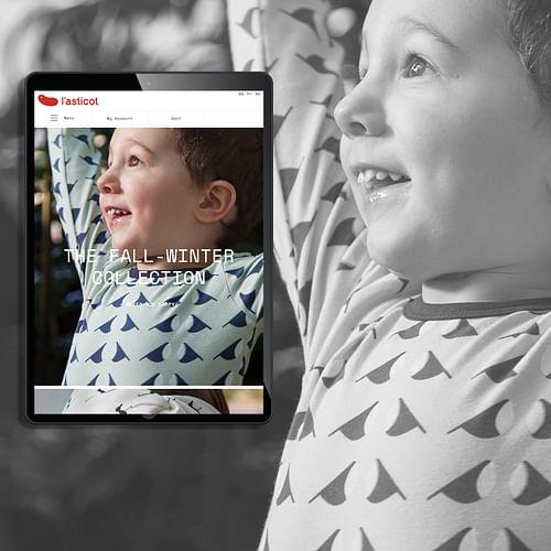E-comerce mode enfant - Création de site internet