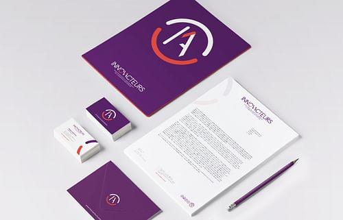 Identité visuelle Innov'Acteurs - Design & graphisme