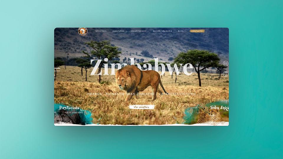 Ankawa Safari Diseño web