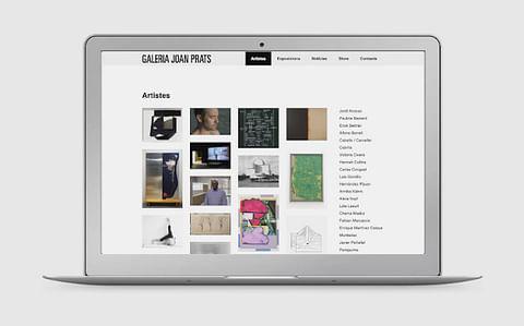 GALERIA JOAN PRATS   Web