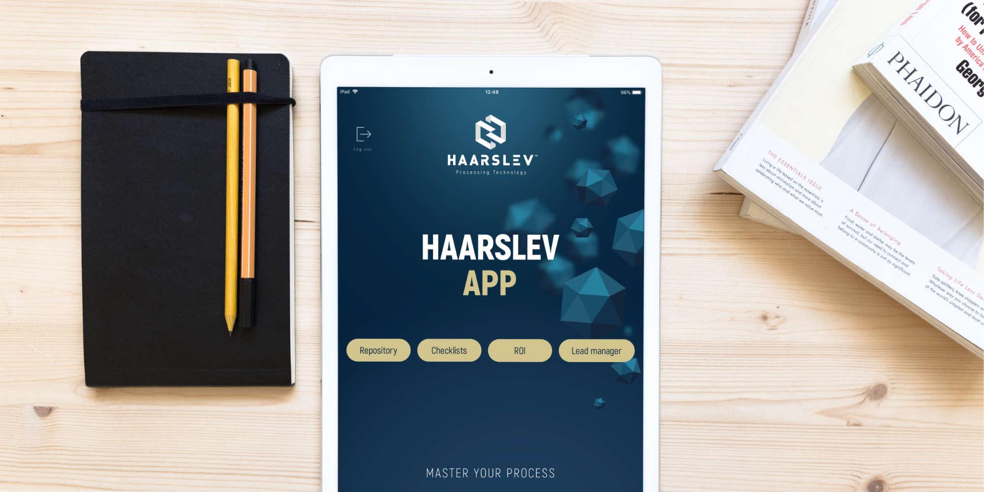 Sales support app - Ontwerp