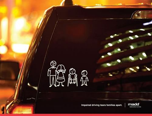 Stick Family Wheelchair - Advertising