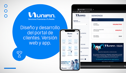 Desarrollo Web & App UNIFIN - Digital Strategy