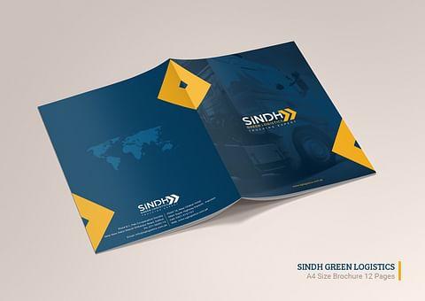 Company Profile Design for Sindh Green Logistics