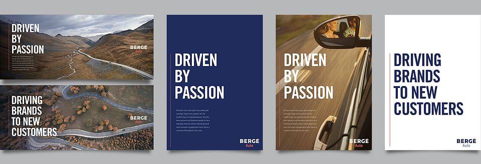 Bergé Rebranding