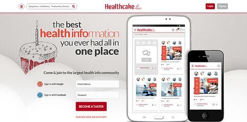 Health Cake - Website Creation