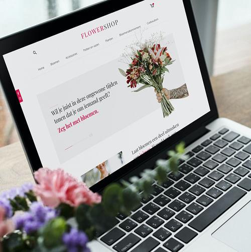 Een webdesign voor een kleurrijke bloemenwinkel - Branding & Positionering