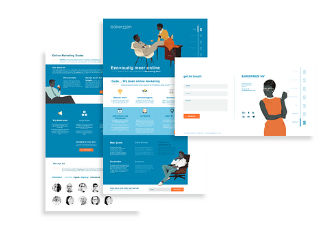 Bakermen | Branding & webdesign
