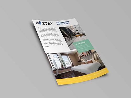 A-Stay: Digital Print & Design flyers - Ontwerp