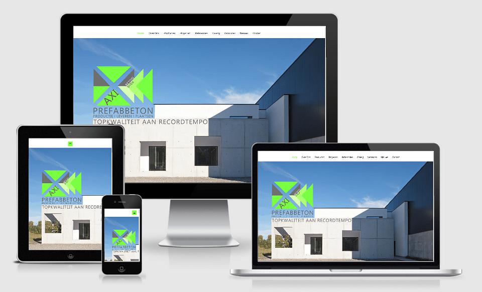 Website Axibeton