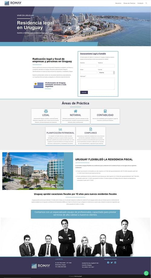 Landing Page- Campaña Ads - Online Advertising