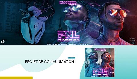 Groupe  PNL (Musique) - Projet de communication