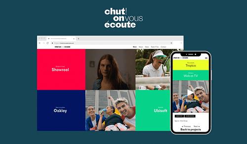 Création d'un site Web - Agence Design Sonore - Stratégie digitale