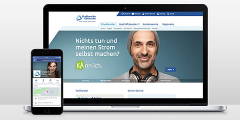 Stadtwerke Karlsruhe – Markenrelaunch Kundenzen...