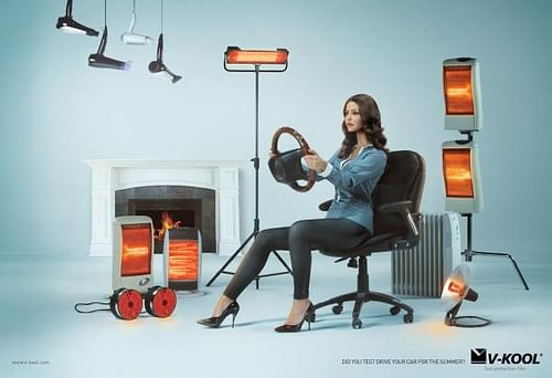 Woman - Advertising