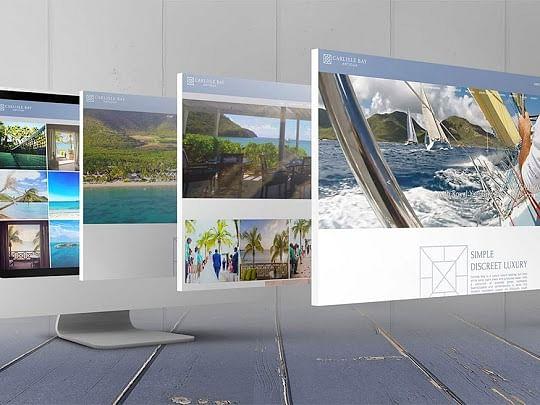 Branding & Website  for Luxury Caribbean Resort