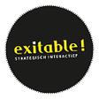 Exitable, strategisch interactief logo
